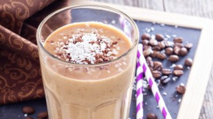 Coffee Smoothie with banana