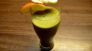 Smoothie with ginger