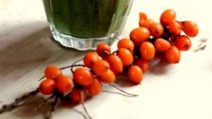Smoothies on the immunity with Sea buckthorn